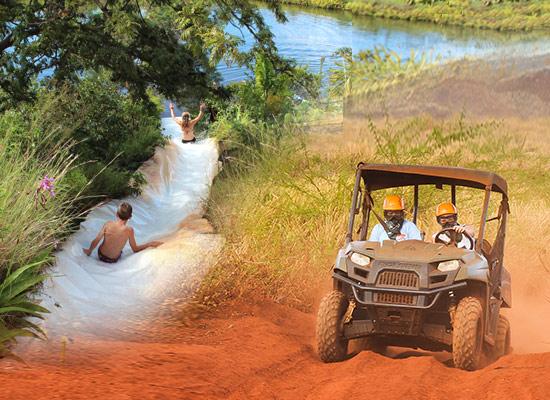 ATV Tour & Water Slides